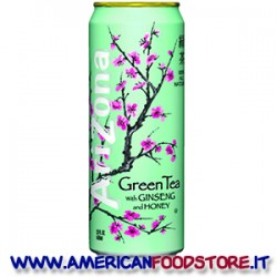 Te Arizona green tea whith ginseng and honey