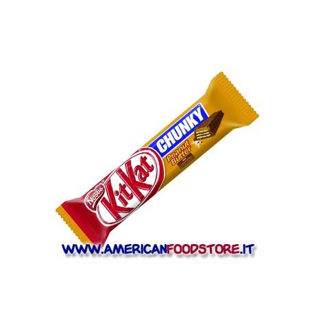 KitKat chunky peanut butter