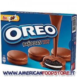 Oreo ricoperti di cioccolato nero
