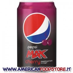 Pepsi Max Cherry (no sugar)