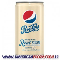Pepsi Vanilla real sugar