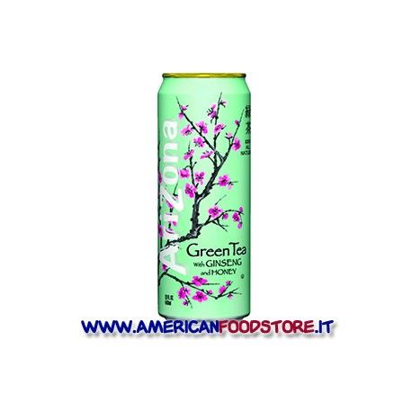 Te Arizona green tea whith ginseng and honey