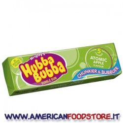 Wrigley Hubba Bubba Gum Atomic Apple