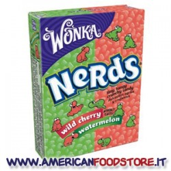 Wonka Nerds Watermelon Wild Cherry