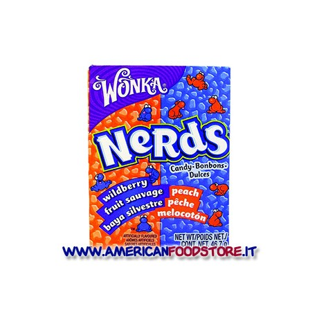 Wonka Nerds Peach and Wildberry