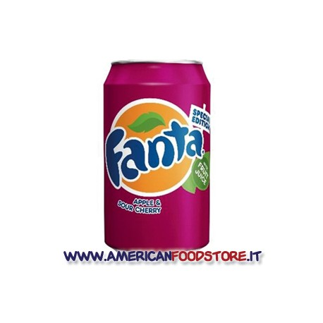 Fanta Apple & Suor Cherry