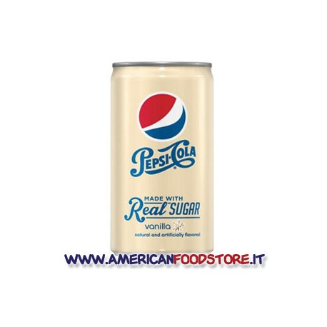 Pepsi Vanilla real sugar